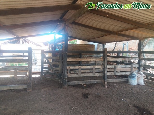 Fazenda para pecuária  e lazer.